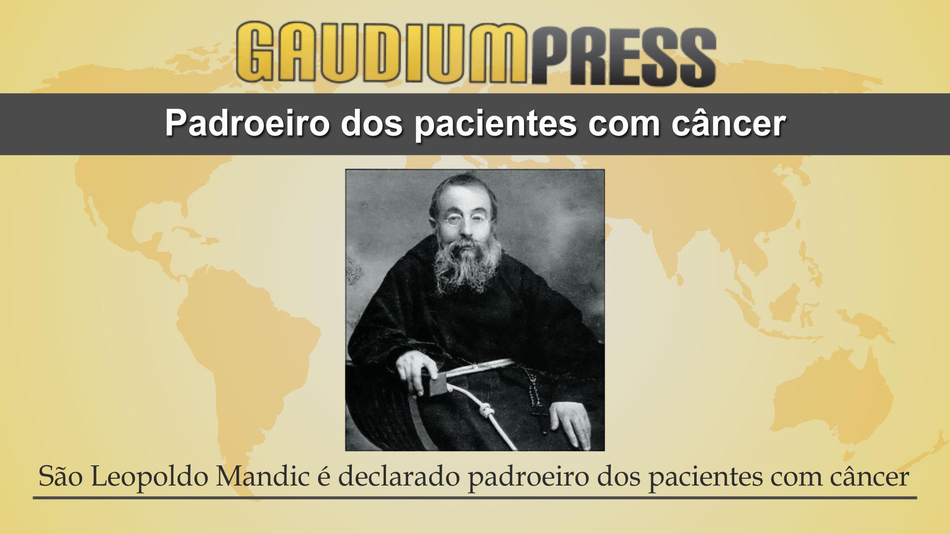 São Leopoldo Mandic é declarado padroeiro dos pacientes com câncer - Gaudium Press