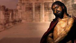 """Diante do crucifixo, pensamos: """"Tu pareces o maior pecador, assumistes sobre si todos os nossos pecados, aniquilou-se."""""""