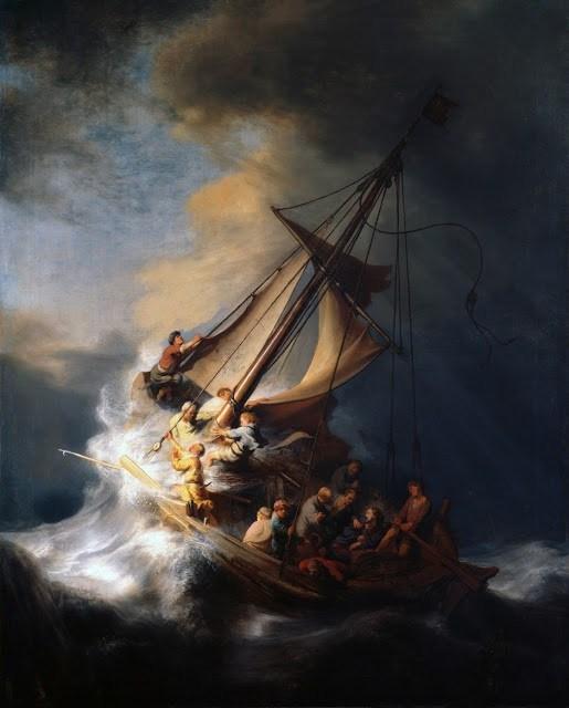 """Nos sacrários, como na barca do mar da Galileia durante a tempestade, Jesus """"dorme"""" e não """"desperta"""", nem sequer à distância..."""