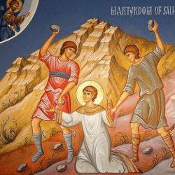 """Papa Estevão foi apedrejado porque """"não toleravam a clareza da doutrina"""""""