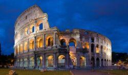 O Império Romano teve uma época de glória, grandes obras, grandes conquistas, mas decaiu, afundou no paganismo e perdeu tudo.