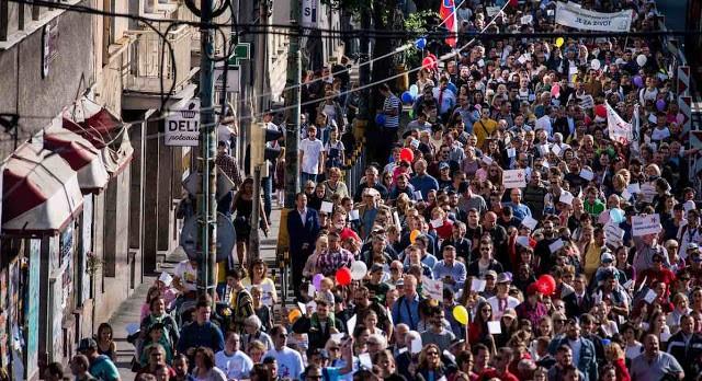 Com a participação de milhares de jovens, a Marcha pela Vida na Eslováquia, promovida pela Conferência Episcopal e pela Kanet levou uma multidão para as ruas de Bratislava.