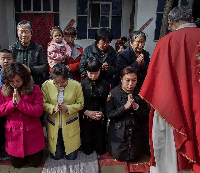 """Um relatório vindo de Jiangxi, na China, revela que padres da Diocese de Yujiang que não ingressam """"igreja católica patriótica"""", foram presos desde 1º de setembro."""