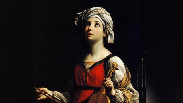Por causa da perseguição aos cristão o Papa refugiava-se nas catacumbas. Uma jovem nobre o procurou e pediu o batismo. A jovem era Santa Cecília, virgem e mártir.