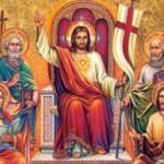 Em sua morte e ressurreição, Jesus se mostra Senhor da história, Rei do universo, Juiz de todos que julgará segundo o amor.