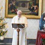 """Que a Virgem Maria """"faça com que as famílias de todo o mundo fiquem cada vez mais fascinadas pelo ideal evangélico da Sagrada Família"""" e a imitem."""