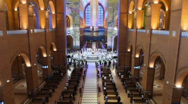Relatório do Santuário de Aparecida aponta queda de 75% no número de visitantes à Basílica em 2020: o menor fluxo de peregrinos dos últimos 50 anos.