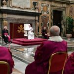 """Inauguração do Ano Judiciário: Papa tratou do matrimônio legalmente declarado nulo e de uma questão relevante: """"o que será dos filhos e da parte que não aceita a declaração de nulidade? """"."""