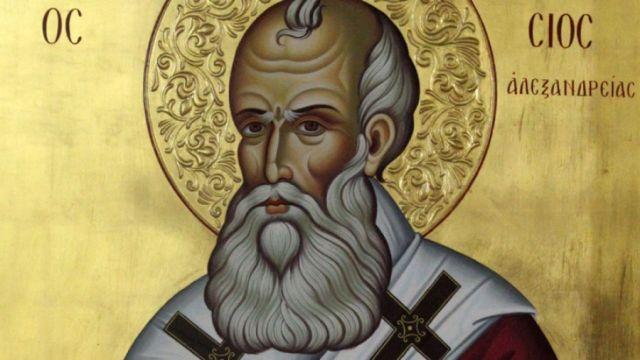 """Santo Atanásio a Constantino: """"Vós me proibis de voltar para meu trono patriarcal e apoiais os hereges. Prestareis em breve contas a Deus por isso!"""""""