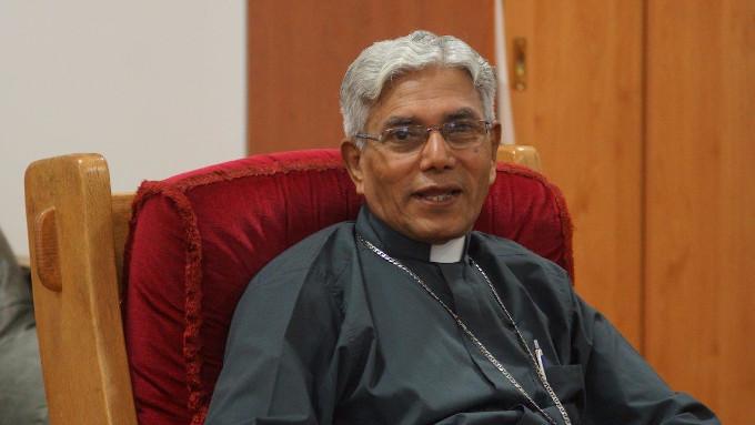 """Dom Leo Cornélio, bispo de Bhopal (Índia), garantiu que a lei contra as conversões """"não desanima as pessoas"""" e """"muitos nos perguntam por que o governo tem tanto medo do cristianismo"""""""