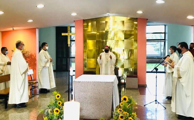 """O tema central da Assembleia deverá dizer respeito ao """"Pilar da Palavra proposto pelas Diretrizes Gerais da Ação Evangelizadora da Igreja no Brasil""""."""