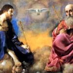 """Cremos que """"o Pai é aquilo que é o Filho, o Filho é aquilo que é o Pai, o Espírito Santo é aquilo que são o Pai e o Filho, isto é, um só Deus por natureza"""" ."""