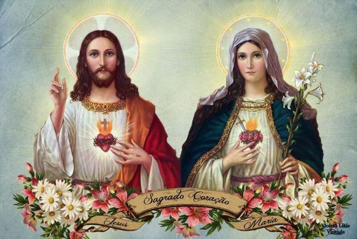 Para que a devoção ao Sagrado Coração de Jesus produza frutos mais abundantes, os fiéis devem unir a ela a devoção ao Coração Imaculado da Mãe de Deus.