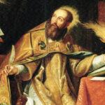Santo Agostinho, uma das maiores intelectualidades que houve na História, um gigante da Fé, da sabedoria e da santidade, para todos os séculos até o fim do mundo.